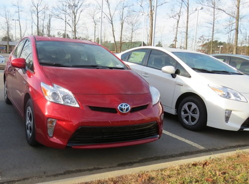 Top Safety Pick+: 2014 Toyota Prius (select models).