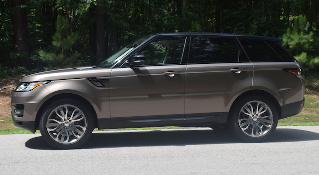 2015 Land Rover Range Rover Sport.