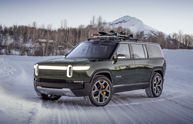 Rivian R1S all-electric SUV.