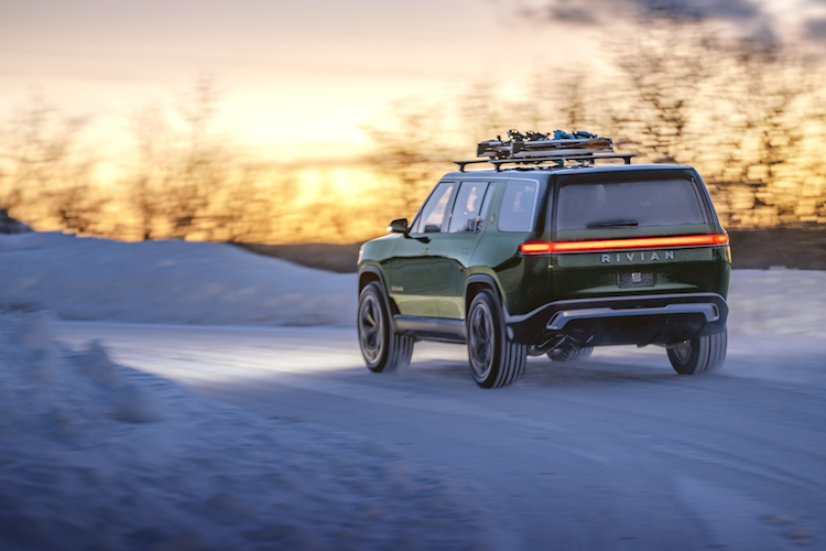 Rivian R1S utility vehicle
