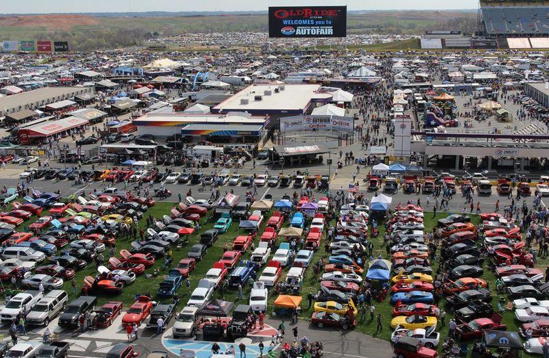 Charlotte Motor Speedway.