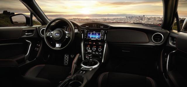 2017 Subaru BRZ.