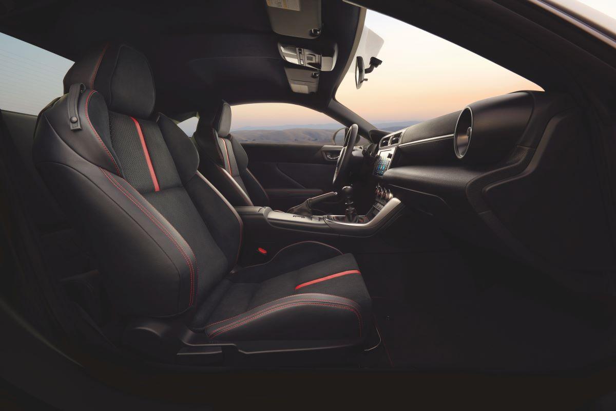 2022 Subaru BRZ cabin