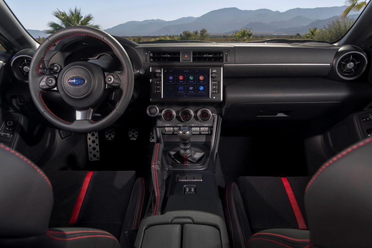 2022 Subaru BRZ technology