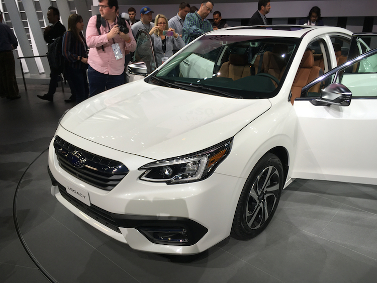 2020 Subaru Legacy A New Platform And Turbo Perk Up Subaru S