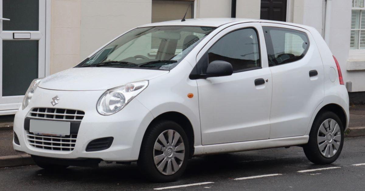 Suzuki Alto front