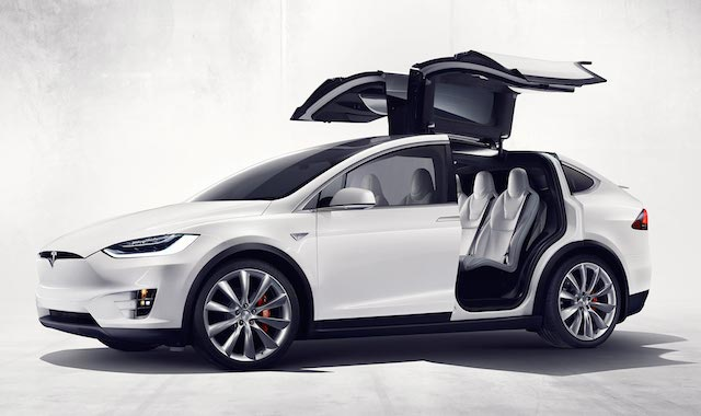 Tesla Model X (copyright Tesla Motors)