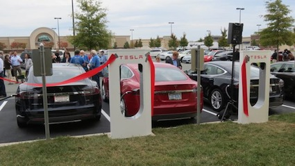 Tesla Model S Electric Vehicle