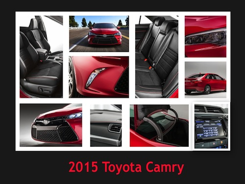 Midsize Toyota Camry