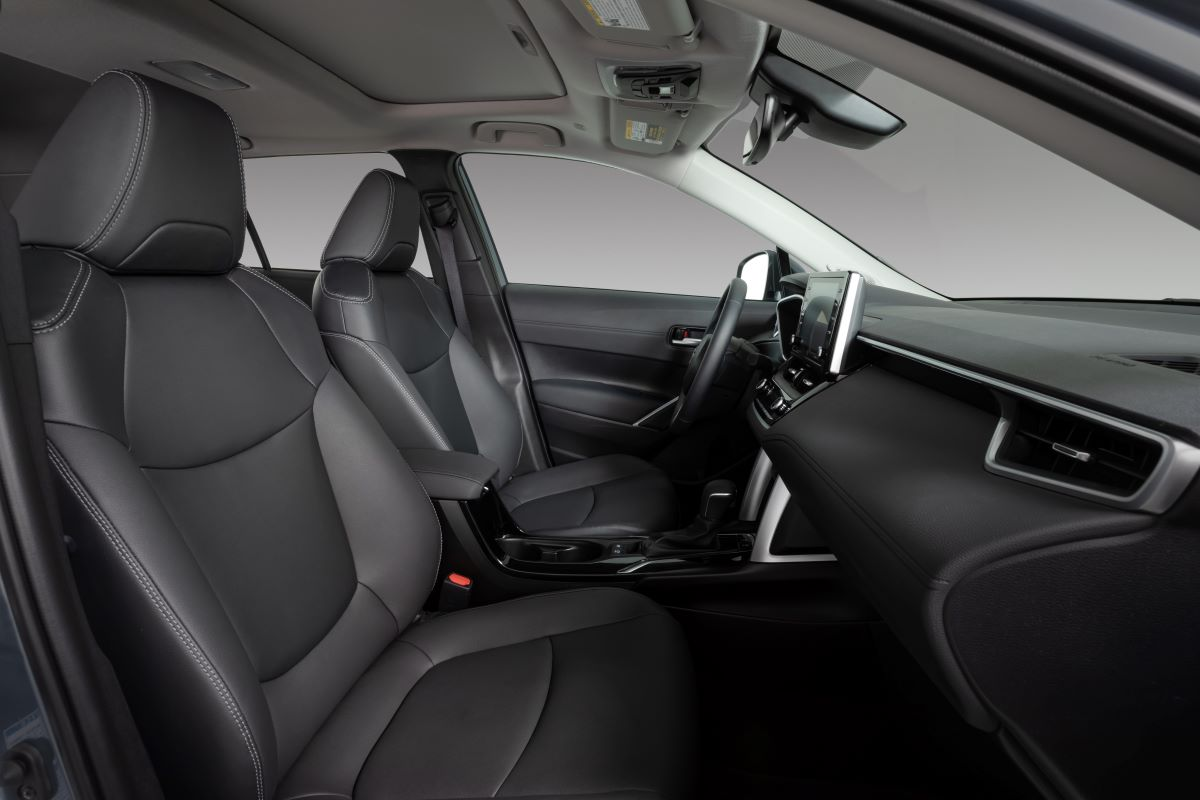 Toyota Corolla cross three-quarter rear view