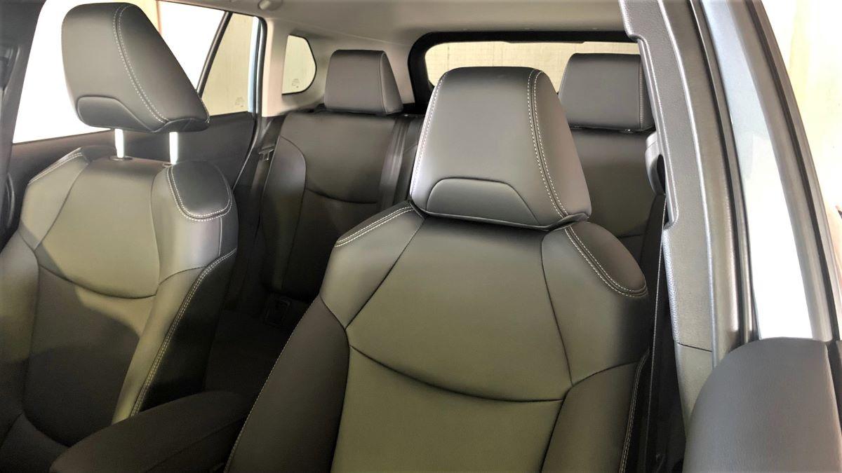 2022 Toyota Corolla Cross seats