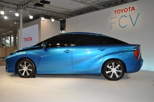 Toyota Fuel Cell Vehicle