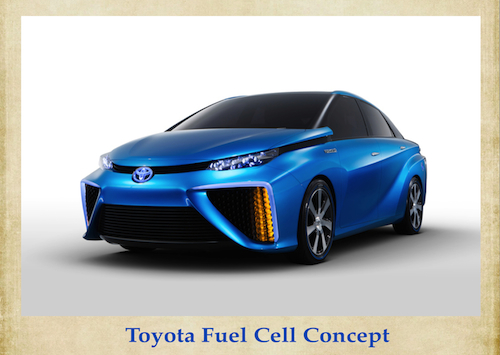 Toyota hydrogen fuel cell concept