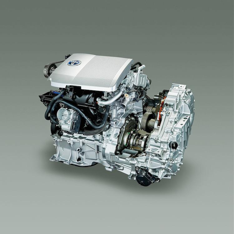 Toyota hybrid technology