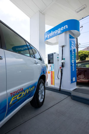 Toyota Hydrogen Fueling Station