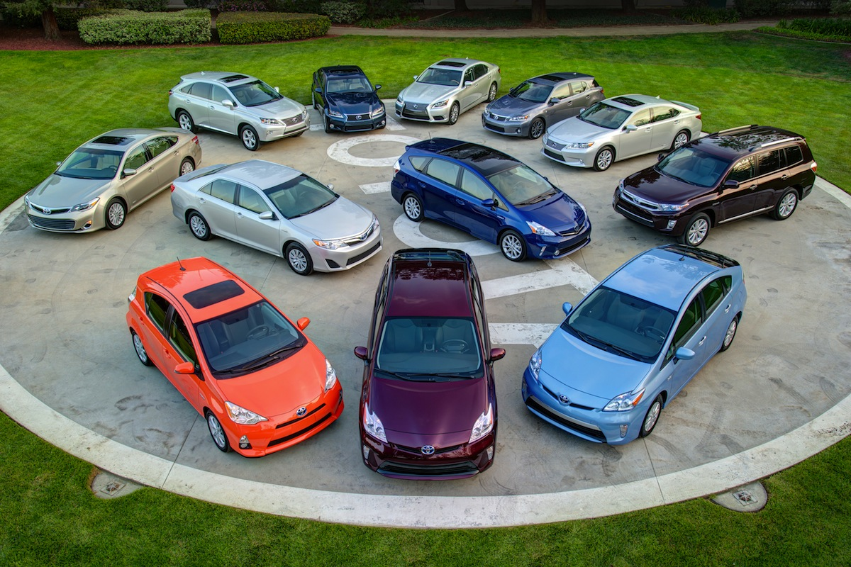 Toyota Lexus Hybrids