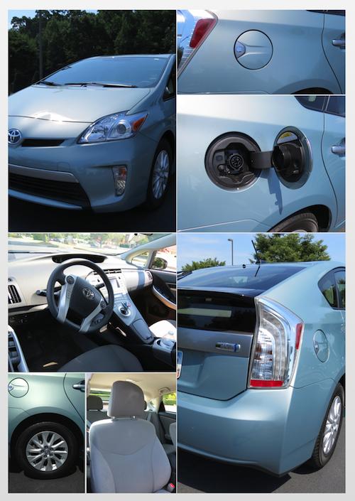 Toyota Prius fuel efficient hybrid