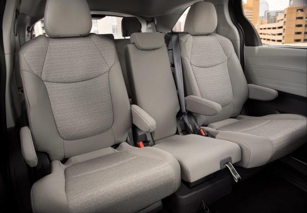 Toyota Sienna back seats