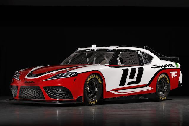 2019 Toyota Supra NASCAR Xfinity