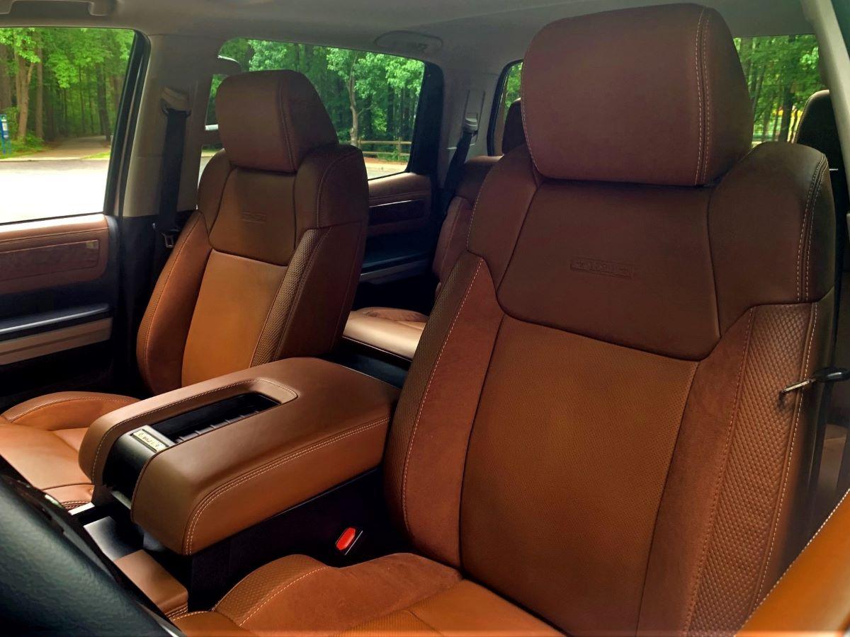 Toyota Tundra front seats