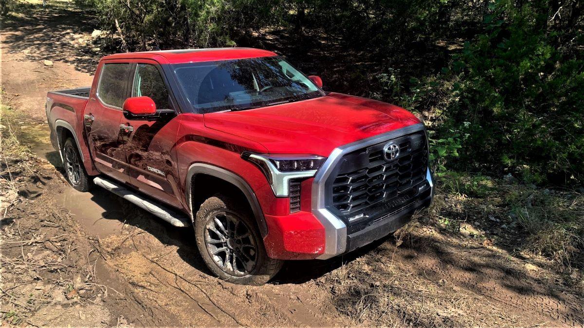 Toyota Tundra off-roading