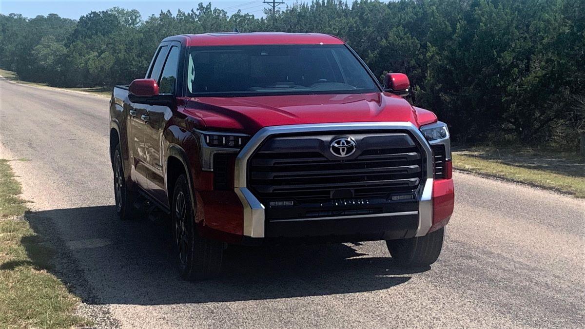 The fourth-generation, 2022 Toyota Tundra