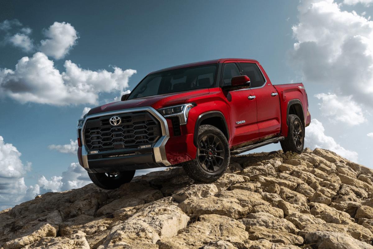 2022 Toyota Tundra Red