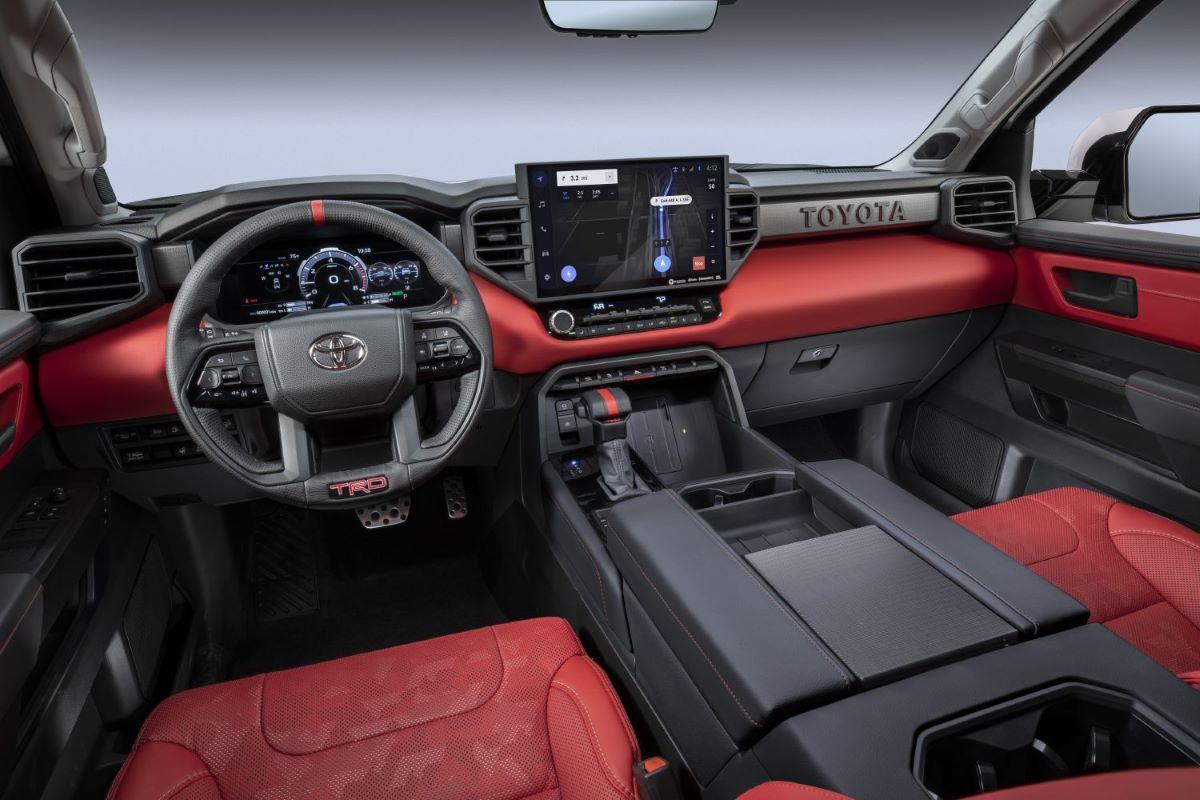 2022 Toyota Tundra instrument panel, display, and dashboard