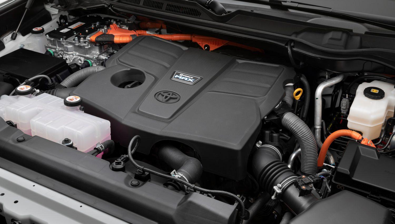 2022 Toyota Tundra hybrid system