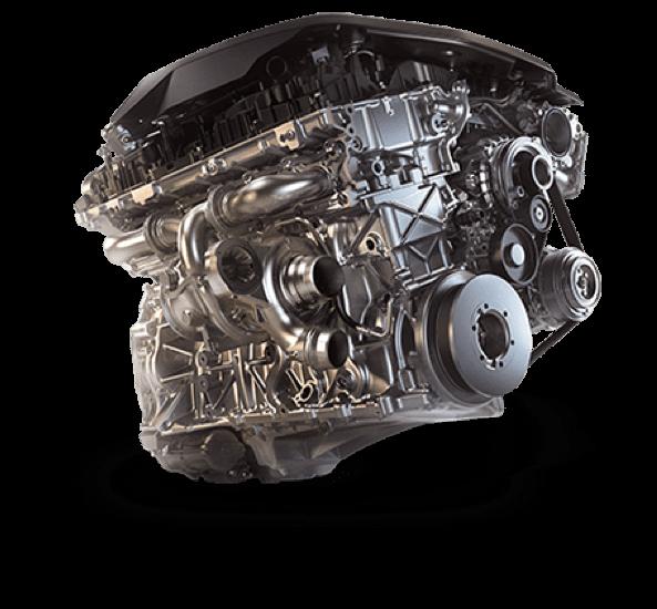 BMW Twin Turbo Engine.