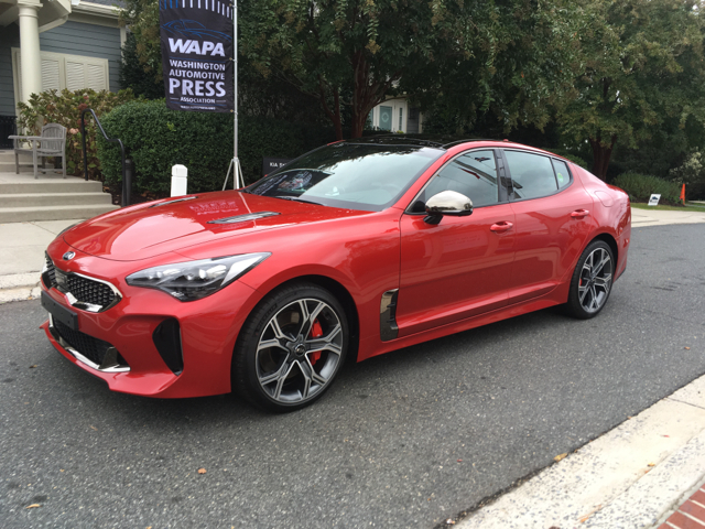 2018 Kia Stinger WAPA Rally