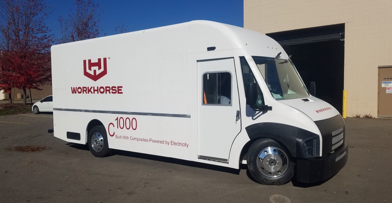 Workhorse C-1000 medium duty electric truck