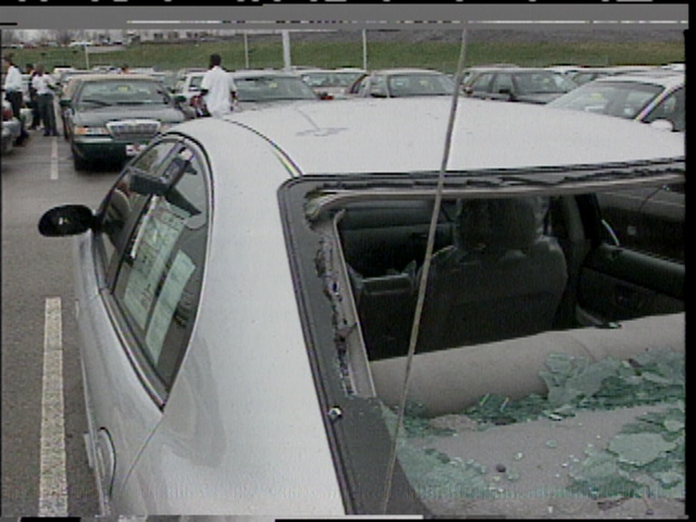hail damage car public domain wikimedia