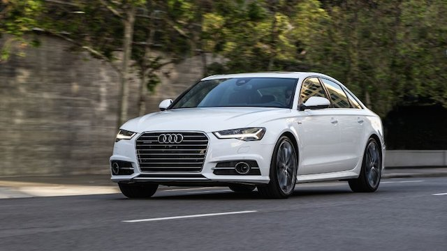 2016 Audi A6.