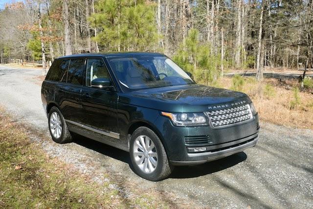 2016 Range Rover HSE.