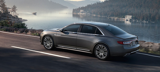 2017 Lincoln Continental.