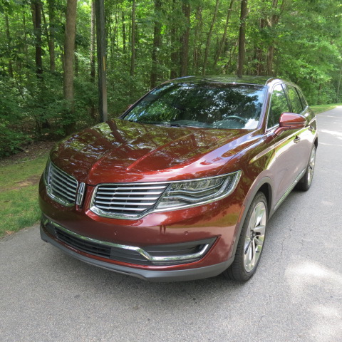 2016 Lincoln MKX.
