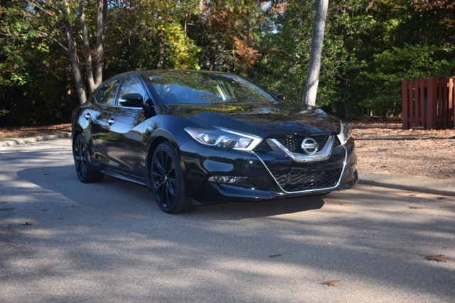2017 Nissan Maxima SR Midnight edition.
