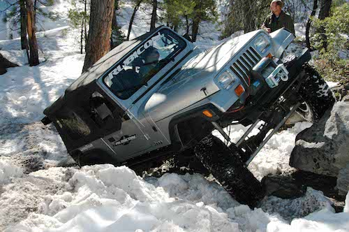 rock crawling Jeep