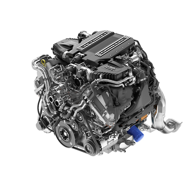 Cadillac CT6 V-Sport 4.2L Twin Turbo V-8.
