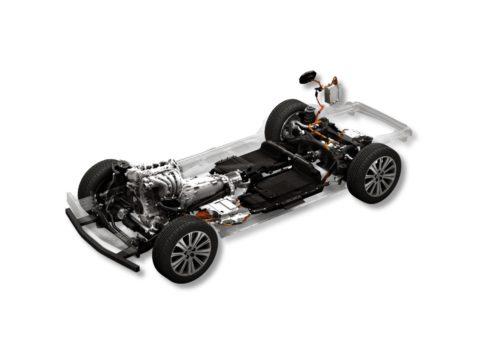 Mazda Large Gasoline Engine PHEV