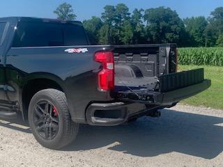 Chevrolet Silverado tailgate